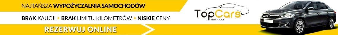 Wypożyczalnia aut bez kaucji Warszawa